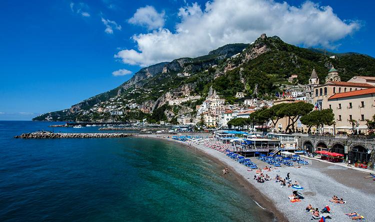 Большой пляж (Spiaggia Grande)