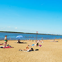 Пляжи Хабаровска — обзор и фото мест для отдыха и загара