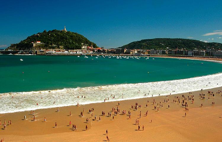 Ла Конча (Playa de la Concha)