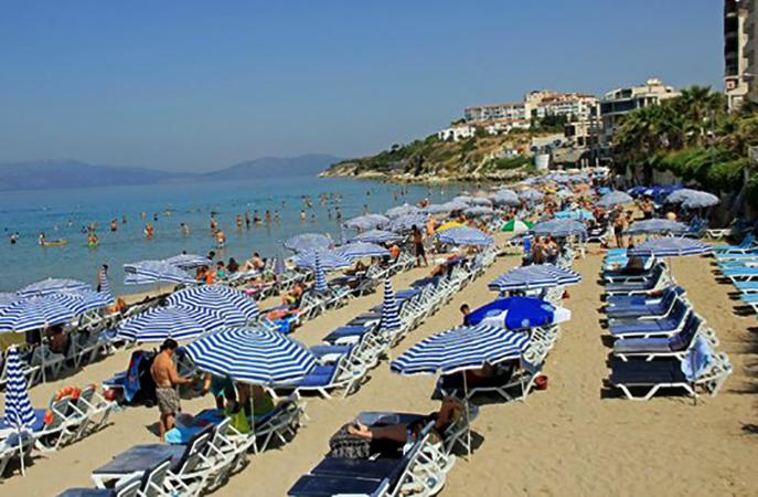 Дамский пляж (Ladies beach)