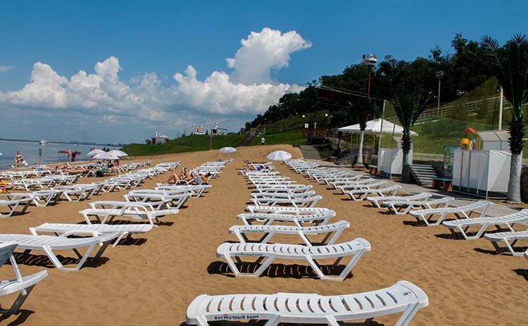 Пляж на «Заимке»