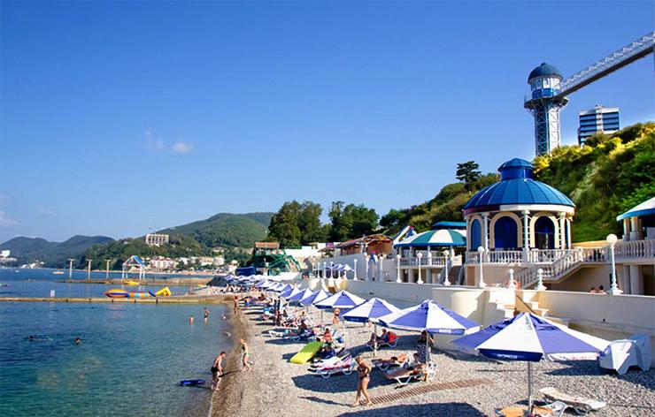 Пляж санатория «Прометей»