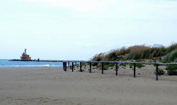 Пунта Саббиони (Spiaggia Di Punta Sabbioni)