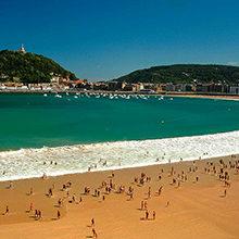 Пляжи Сан-Себастьяна — красивые места побережья