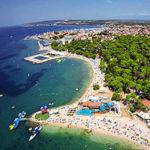 Пляжи и красивые места побережья Задара
