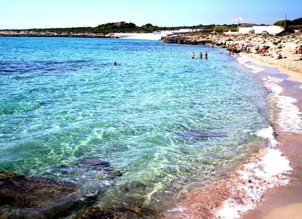 Пляж Трамонтон (Spiaggia di Tramontone)