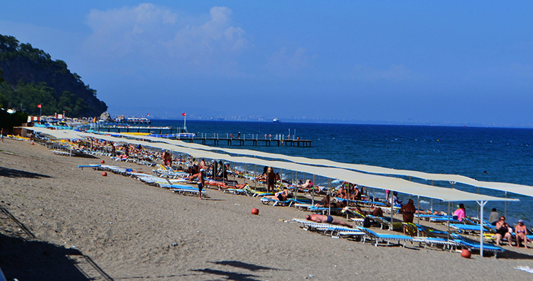 Центральный пляж (Municipal Beach Beldibi)