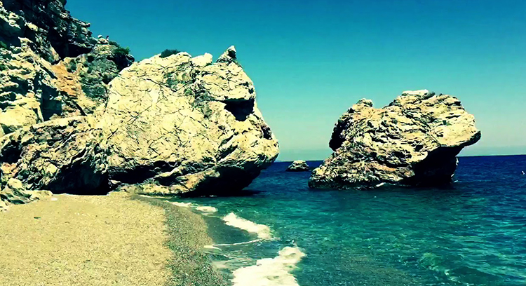 Дикий пляж (Wild beach Beldibi)
